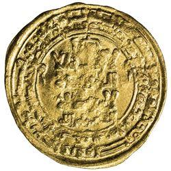 GREAT SELJUQ: Tughril Beg, 1038-1063, AV dinar (3.16g), al-Rayy, AH440. VF