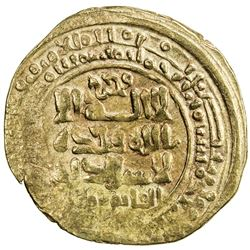GREAT SELJUQ: Alp Arslan, 1058-1063, AV pale dinar (3.31g), MM, AH456. VF