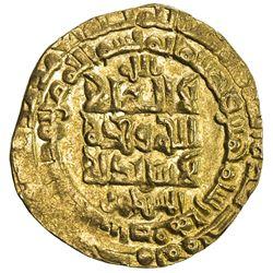 GREAT SELJUQ: Muhammad I, 1099-1118, AV dinar (3.47g), Isfahan, AH505. EF