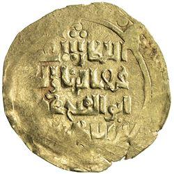 KHWARIZMSHAH: Muhammad, 1200-1220, AV dinar (5.35g), MM, DM. VF