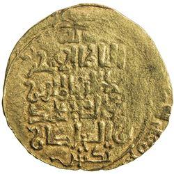 KHWARIZMSHAH: Muhammad, 1200-1220, AV dinar (3.66g), MM, DM. VF