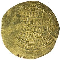 GHORID: Ghiyath al-Din Muhammad, 1163-1203, AV dinar (4.36g), Herat, AH5x6. VF