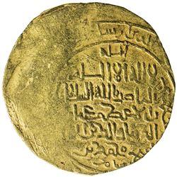 GHORID: Mu'izz al-Din Muhammad, 1171-1206, AV dinar (5.08g), Ghazna, DM. VF