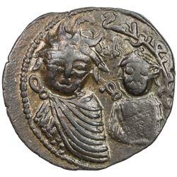ARTUQIDS OF MARDIN: Il-Ghazi II, 1176-1184, AR dirham (15.56g), NM, AH578. VF-EF