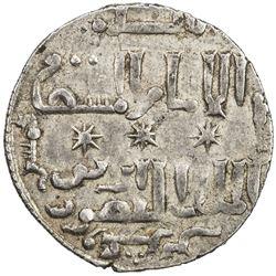 ARTUQIDS OF MARDIN: Artuq Arslan, 1201-1239, AR dirham (2.90g), Dunaysir, AH625. EF
