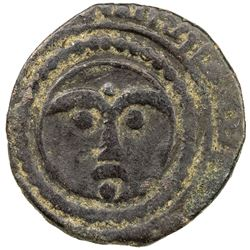 ARTUQIDS OF MARDIN: Ghazi II, 1294-1312, AE fals (2.68g), NM, DM. F-VF