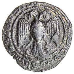 ZANGIDS OF SINJAR: 'Imad al-Din Zangi, 1169-1197, AR dirham (7.16g), Sinjar, AH583. VF