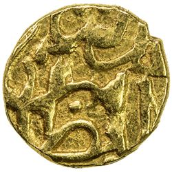 QALHATI AMIR: temp. Mas'ud, 1456-1466, AV 1/2 dinar (1.25g), Jarun, AH861. EF