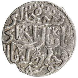GREAT MONGOLS: Mongke, 1251-1260, AR dirham (2.74g), Tiflis, AH650. VF