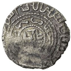 GREAT MONGOLS: Mongke, 1251-1260, AR dirham (3.32g), Shahr Qorum, AH65x. VF