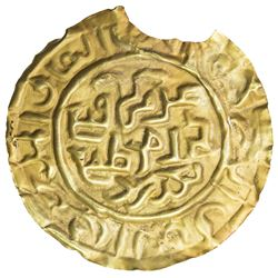GREAT MONGOLS: Anonymous, ca. 1220-1280, AV burial bracteate (0.30g). EF