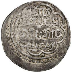CHAGHATAYID KHANS: Kibak Khan, 1318-1326, AR dinar (7.91g), Samarqand, AH725. VF-EF