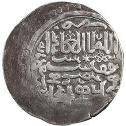CHAGHATAYID KHANS: Buyan Quli Khan, 1348-1359, AR dinar (6.67g), Urdubazar, AH7(57). VF