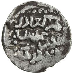 CHAGHATAYID KHANS: Suyurghatmish, 1370-1388, AR 1/6 dinar (0.80g), NM, ND. VF