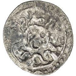 GOLDEN HORDE: Toda Mangu, 1280-1287, AR dirham (1.56g), Qrim, AH683. VF