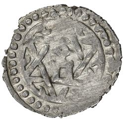 GOLDEN HORDE: Tole Buqa, 1287-1290, AR yarmaq (1.73g), Qrim, AH686. EF