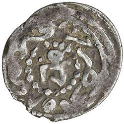 GOLDEN HORDE: Toqtu, 1291-1312, AR dirham (1.22g), Qrim, AH704. VF