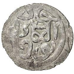 GOLDEN HORDE: Toqtu, 1291-1312, AR dirham (1.22g), Qrim, AH707. VF-EF
