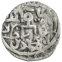 GOLDEN HORDE: Muhammad Uzbek, 1312-1341, AR dirham (1.48g), Mukhshi, AH718. VF
