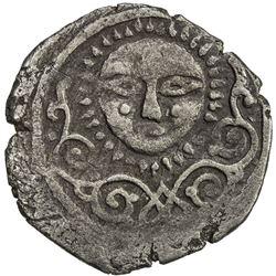 ILKHAN: Arghun, 1284-1291, AR dirham (2.18g), Nishapur, ND. VF