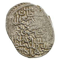 TIMURID: Shah Mahmud, 1457-1459, AR tanka (5.08g), Herat, AH861. VF