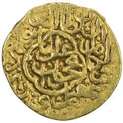 SAFAVID: Isma'il I, 1501-1524, AV 1/4 ashrafi (0.96g), Nakhjawan, ND. VF