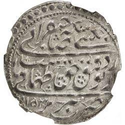 SAFAVID: Tahmasp II, 1722-1732, AR abbasi, Tabriz, AH1153 (sic), NGC graded MS65