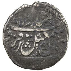 SAFAVID: Isma'il III, 1750-1756, AR 3 shahi (3.45g), Qazwin, DM. F
