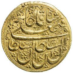QAJAR: Fath 'Ali Shah, 1797-1834, AV toman (4.61g), Khuy, AH1240. EF