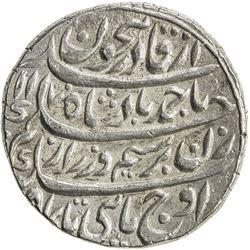 DURRANI: Ahmad Shah, 1747-1772, AR rupee (11.48g), Shahjahanabad (Delhi), AH1170 year 11. EF-AU