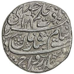 """DURRANI: Shah Zaman, 1793-1801, AR rupee (10.92g), Balkh, AH1208 // """"1121"""". VF-EF"""