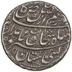 DURRANI: Shah Shuja', 1803-1809/2nd reign, AR double rupee (23.07g), Bahawalpur, AH1218 year one (ah