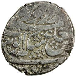 DURRANI: Ayyub Shah, 1817-1829, BI rupee (10.18g), Ahmadshahi (=Qandahar), AH1239. VF