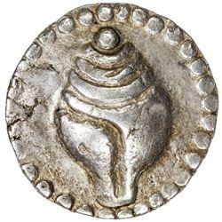 HAMSAVATI: AR 88 ratti (9.63g), late 4th century. VF-EF