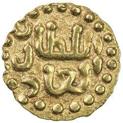 SAMUDRA-PASAI: Ahmad II, 1326-1360, AV mas (0.61g). EF