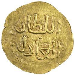 SAMUDRA-PASAI: Zain Al-Abidin, ca. 1360-1370, AV mas (0.63g). EF