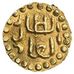 SAMUDRA-PASAI: Abu'l-Din, ca. 1405-1412, AV mas (0.70g). EF