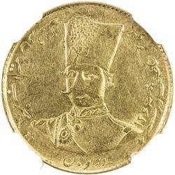 IRAN: Nasir al-Din Shah, 1848-1896, AV 2 toman, Tehran, AH1299. NGC MS61