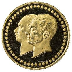 IRAN: Muhammad Reza Shah, 1941-1979, AV medal (5.01g), SH2535. PF