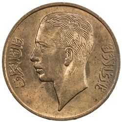 IRAQ: Ghazi I, 1933-1939, 1 fils, 1938//AH1357. BU