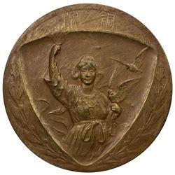 JAPAN: Taisho, 1912-1926, AE medal, year 11 (1922). EF-AU