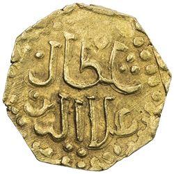 JOHORE: Sultan Ala'uddin Riayat Shah I, 1527/28-1564, AV octagonal mas (2.53g). VF-EF