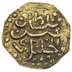 JOHORE: Sultan Abdul Jalil Shah II, 1571-1597, AV octagonal kupang (0.64g). EF