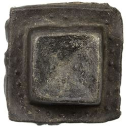 PAHANG: Anepigraphic, probably early 19th century, tin tampang (303.98g), ND. VF-EF