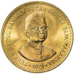 MALAYSIA: AV 100 ringgit, 1971. UNC