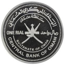 OMAN: Qaboos bin Said al Said, 1970-, AR rial, 2013. PF