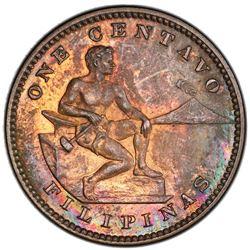 PHILIPPINES: U.S. Territory, AE centavo, 1904. PCGS PF63