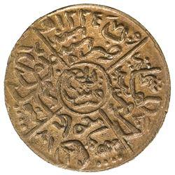 HEJAZ: al-Husayn b. 'Ali, 1916-1924, AE 1/4 ghirsh, Makka al-Mukarrama (Mecca), AH1334 year 5/6. UNC
