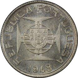 TIMOR: Portuguese Colony, AR 50 avos, 1948. PCGS SP