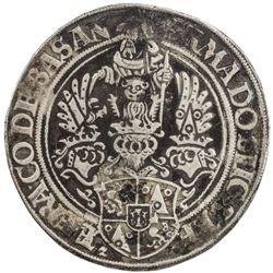 SCHLICK: Stephan, 1505-1526, AR thaler (27.87g), [15]27. VF